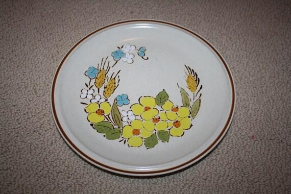 Blue Springtime Japan Stoneware