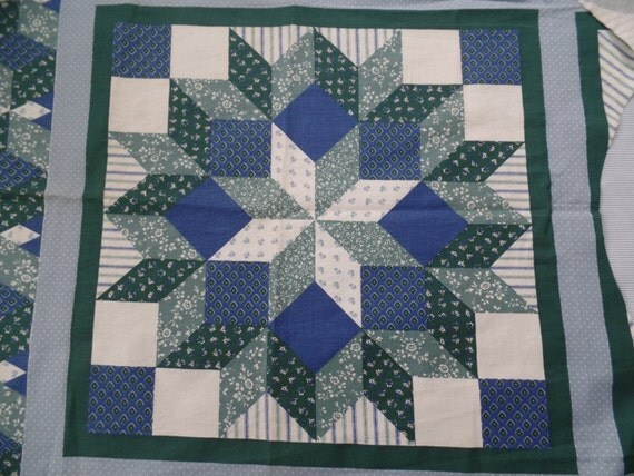 Fabric Panels Quilting