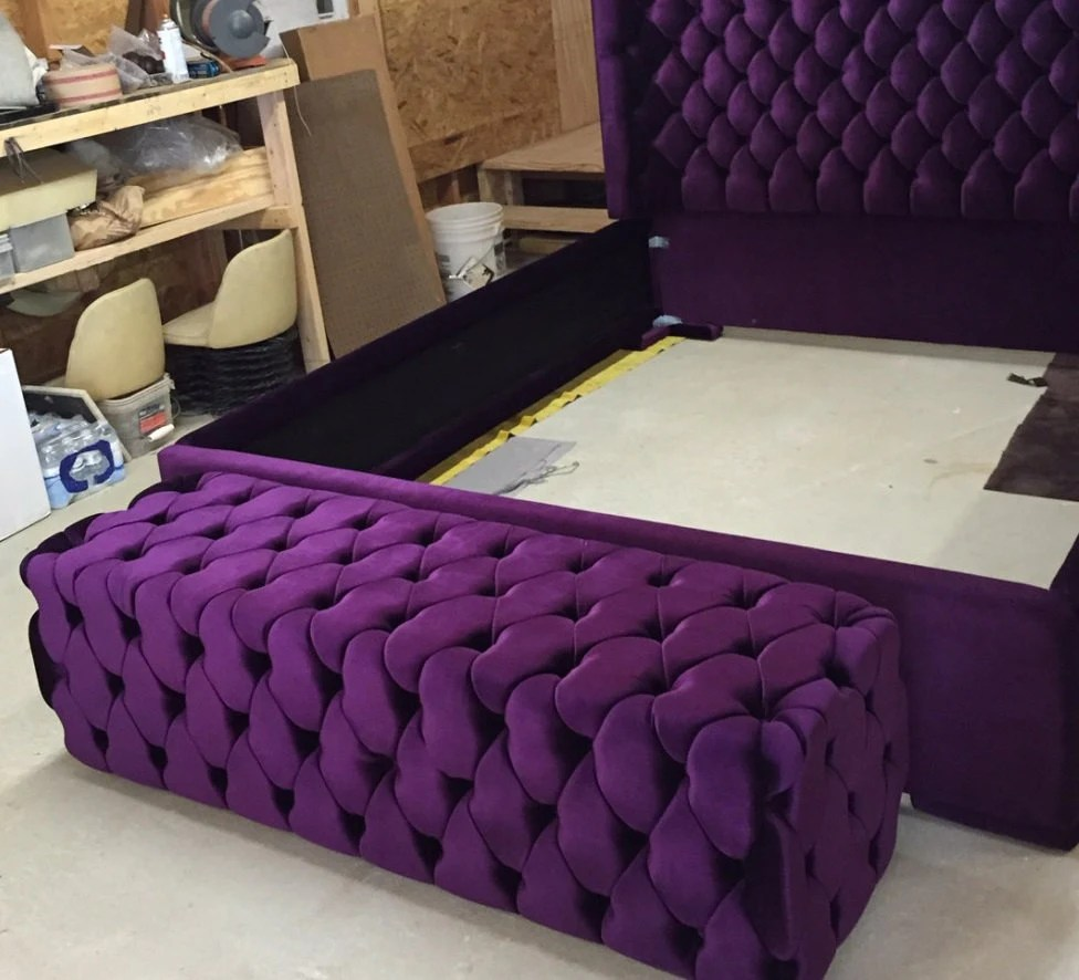 Square Upholstered Coffee Table