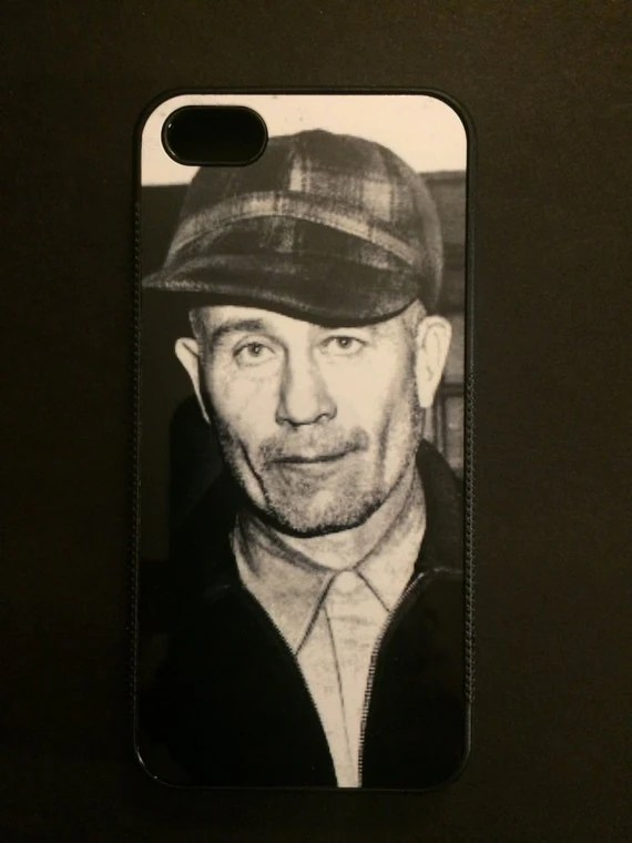 Ed Gein Phone Case Serial Killer Horror
