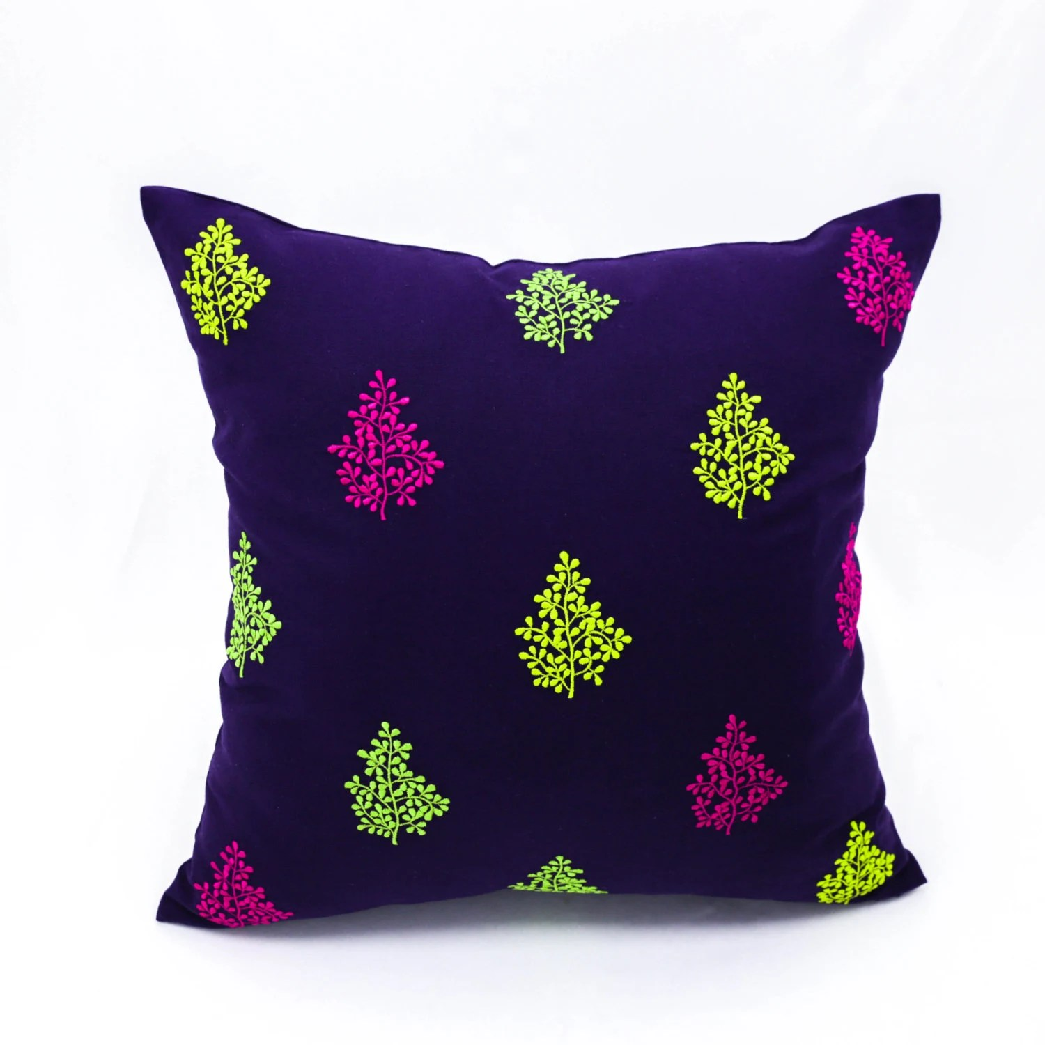 Pussy Willow Throw Pillow Cover Decorative Pillow Cover 18 X