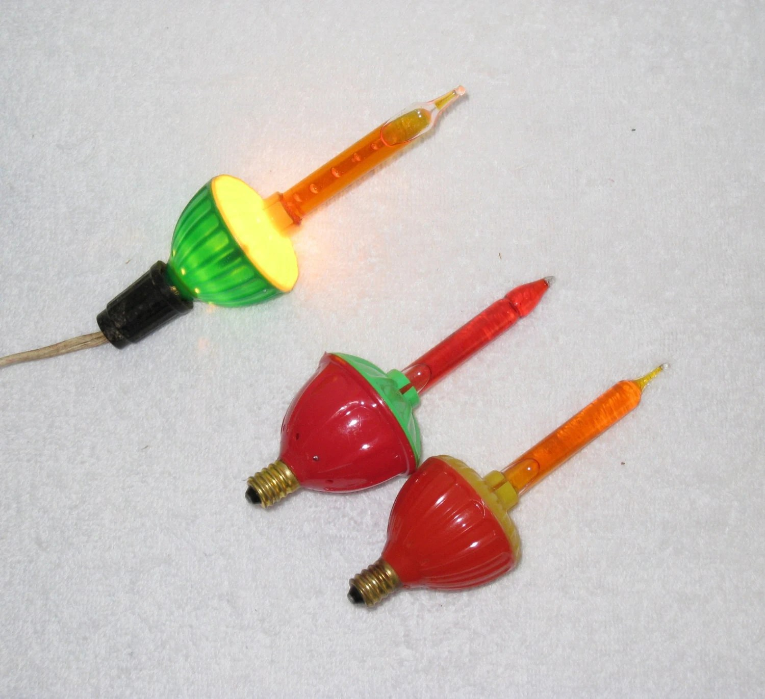 Bubble Lights Set Of 3 Christmas Tree Replacement Bulbs