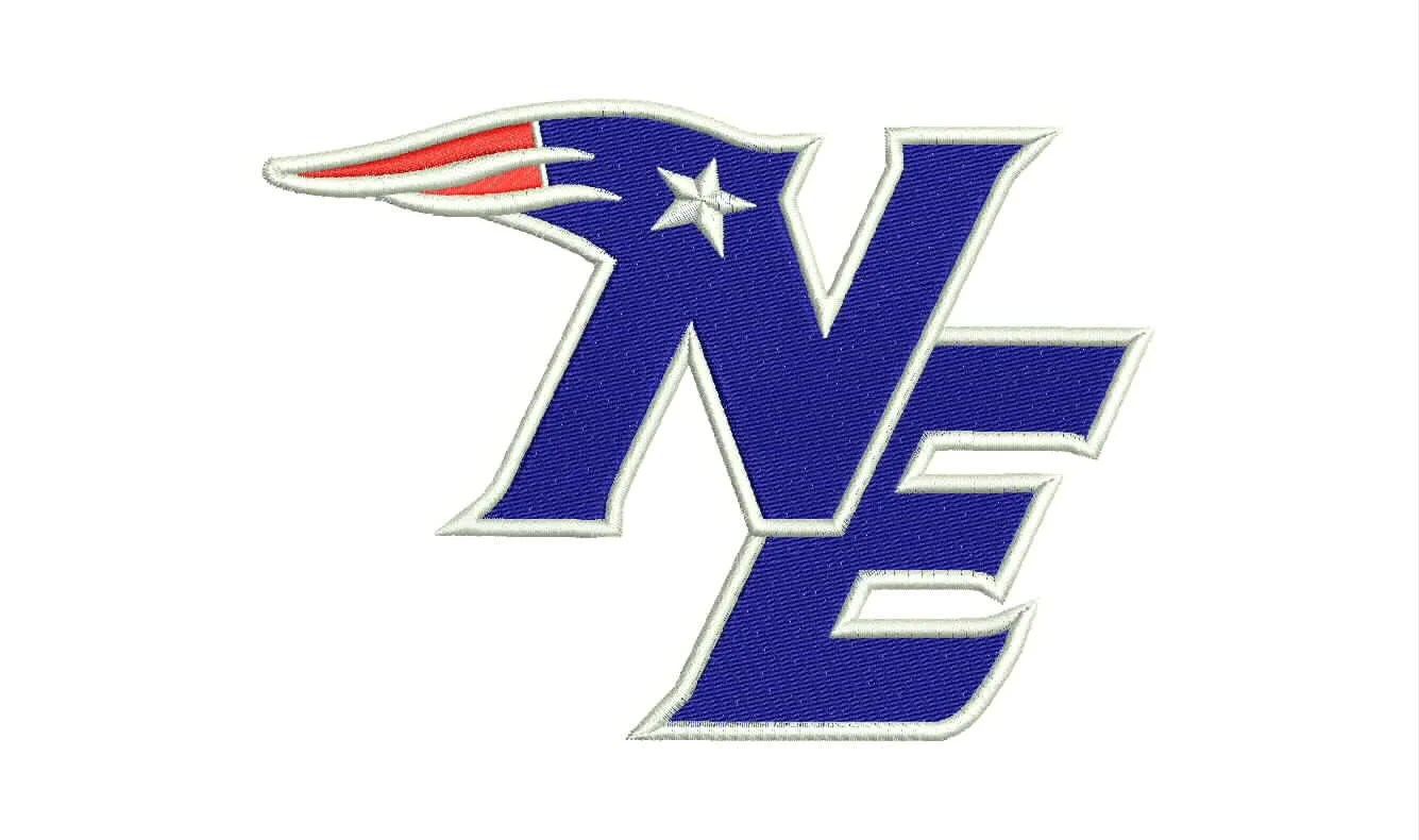 New England Patriots Logo Machine Embroidery Designs By
