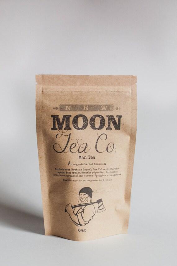 Man Tea - Prostate Health Tea For Men, organic Loose Leaf Herbal Tea