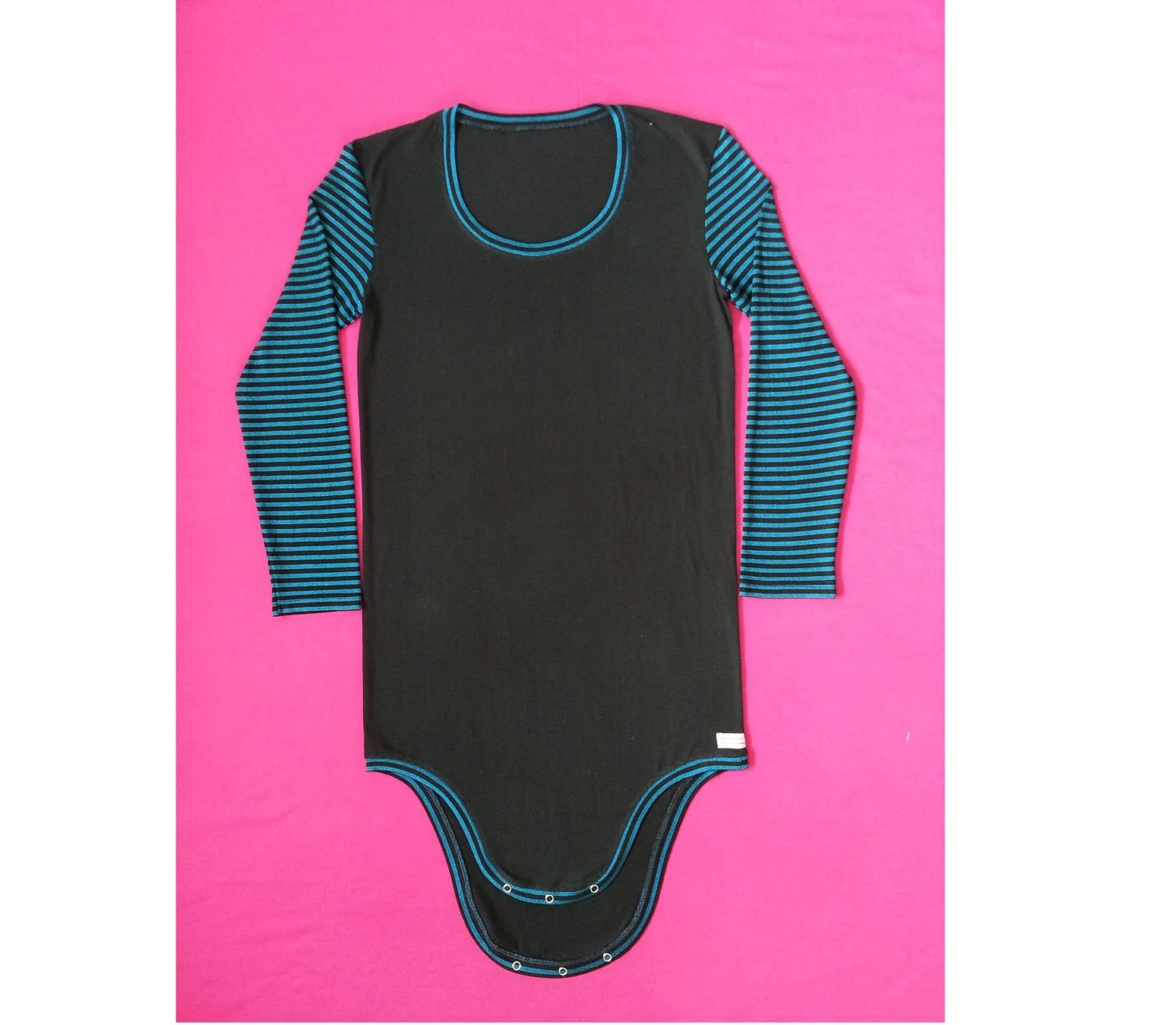 Long Sleeve Onesie Adult Bodysuit Adult Onesie Special Need