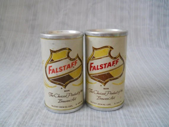 Falstaff Salt And Pepper Shakers