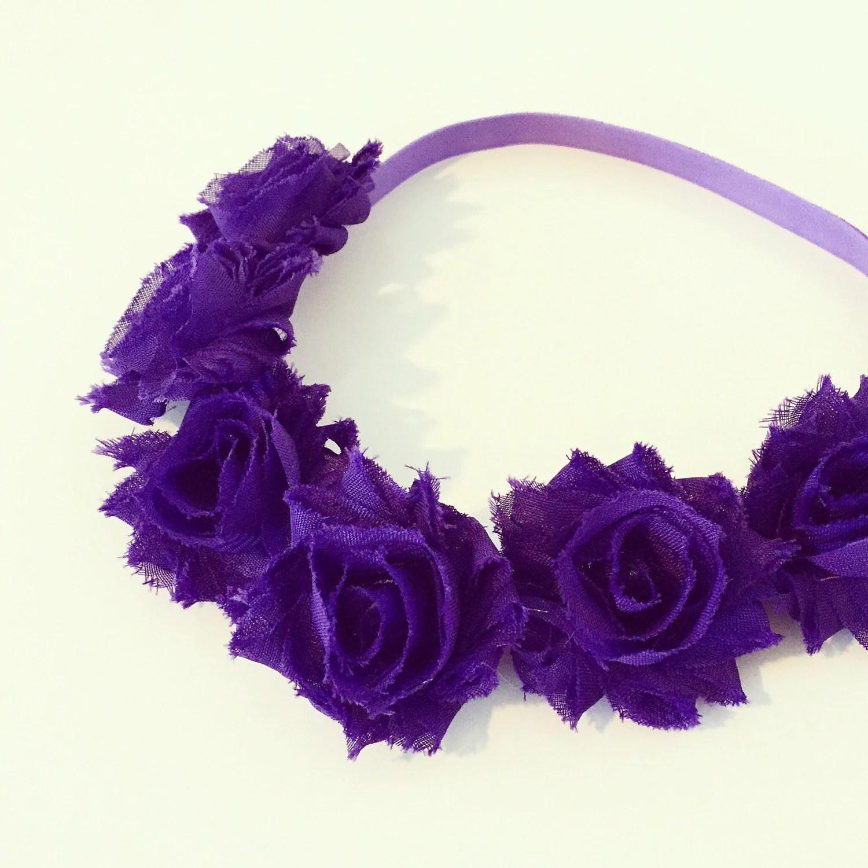 Purple And Black Flower Crown d20c8c625b4