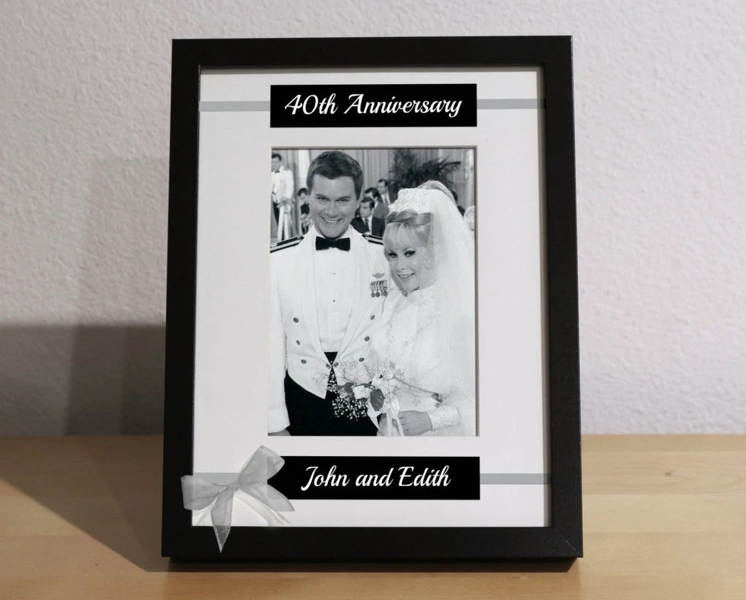 40th Wedding Anniversary 40th Anniversary Gift For Parents