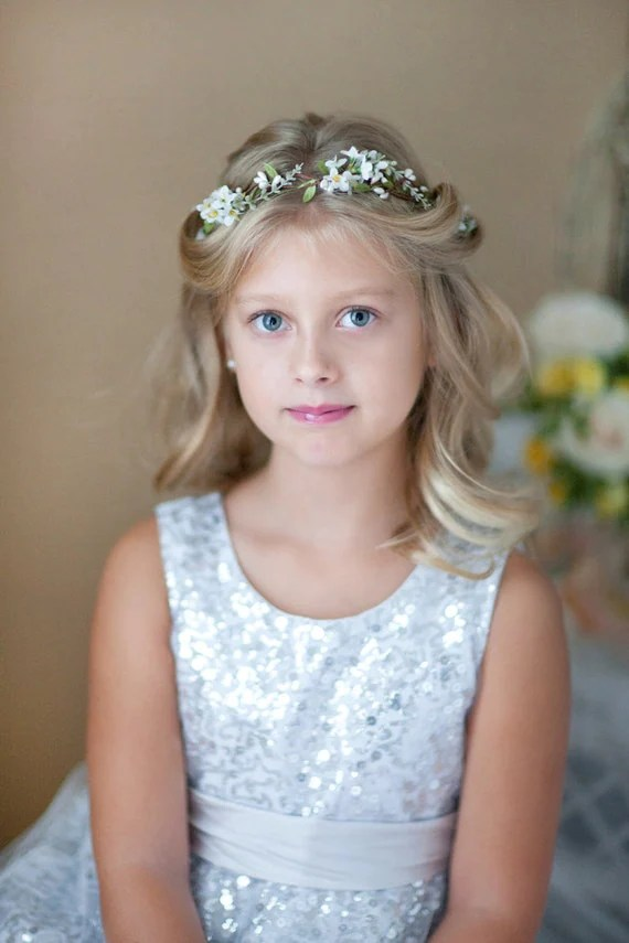 Flower Girl Hairstyles For Long Hair Page 1