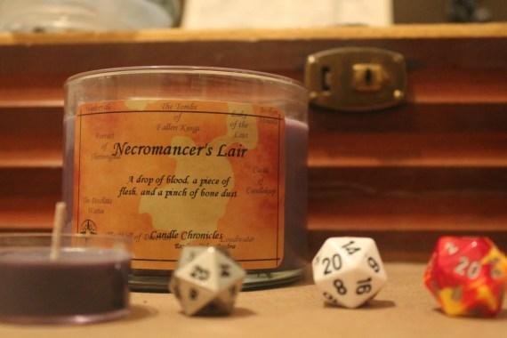 Necromancer's Lair Candle