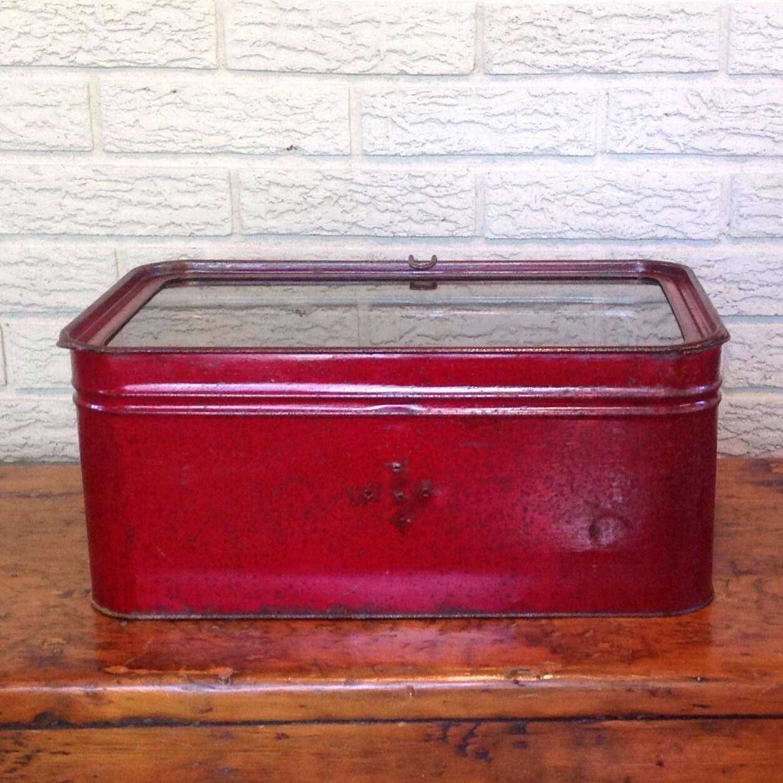 Vintage bread box Etsy