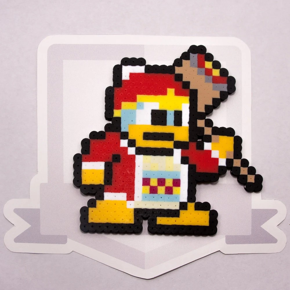 King DeDeDe Perler Bead Sprite Super Smash Bros Gaming