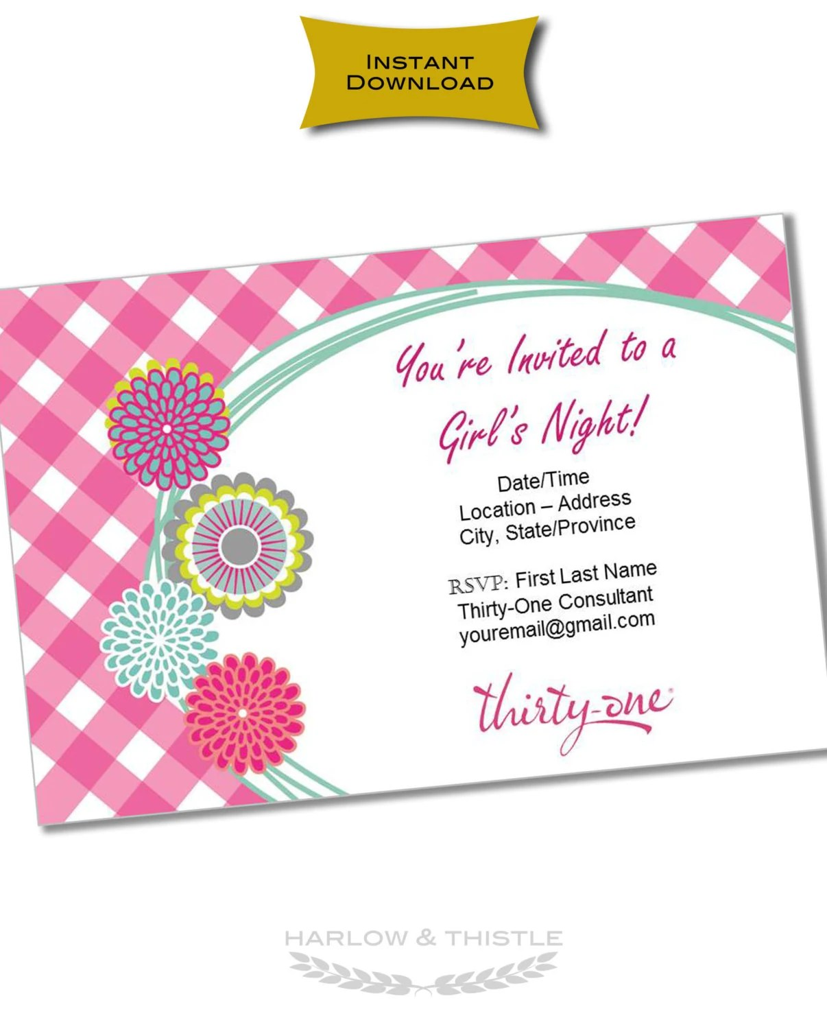 Create And Print Invitations