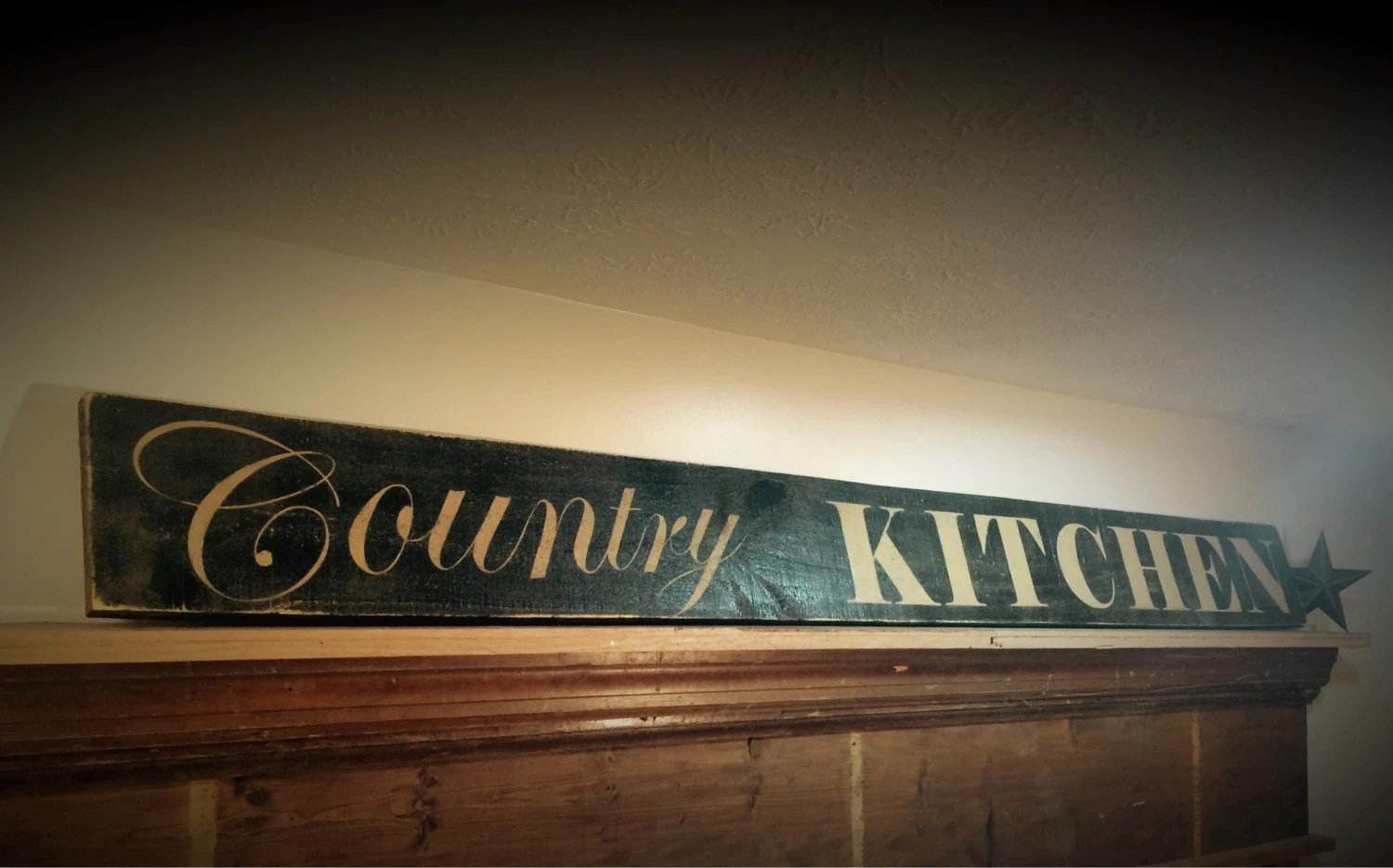 Rustic Country Kitchen Decor