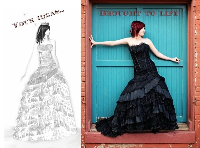 Custom Wedding Dress And Design Your Own Wedding Dress From