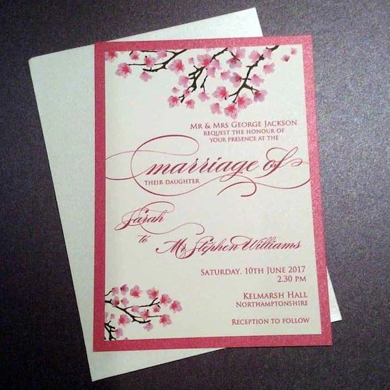 Custom Made Invitations Uk
