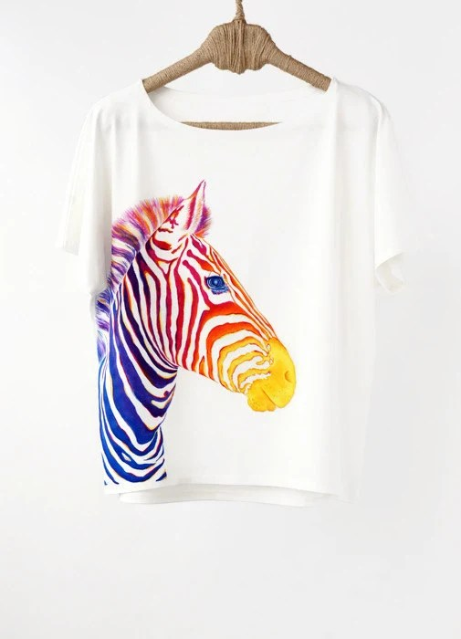 Clothes Print Animal Colorful