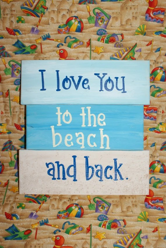 Download I love you to the beach and back