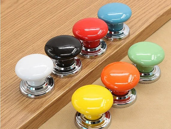 Knobs Dresser Knob Drawer Knobs Pulls Handles / Ceramic