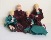 Vintage bisque dolls set ...