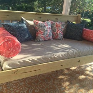 Fitted OUTDOOR Daybed cover in twin twin xl or full on Belham Living Lilianna Outdoor Daybed id=81258