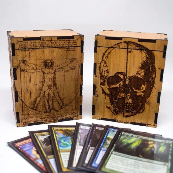 Personalized Trading Card Game Box