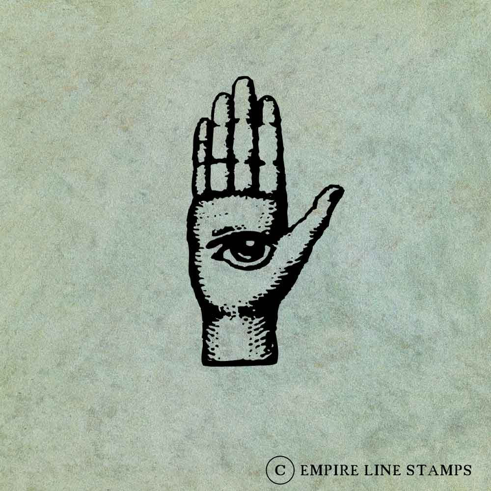 Hand with All Seeing Eye ...