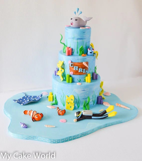 Dory Cake Topper Banner