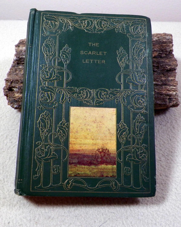 The Scarlet Letter Nathaniel Hawthorne Antique Undated