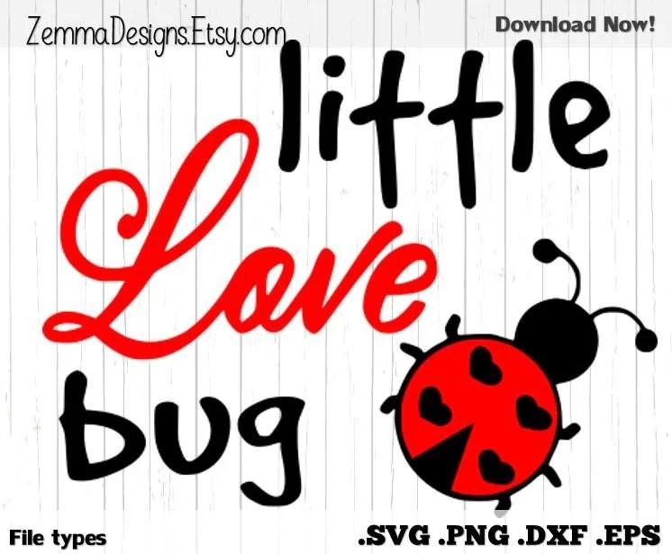 Download Valentine svg - love svg - little love bug - file types ...