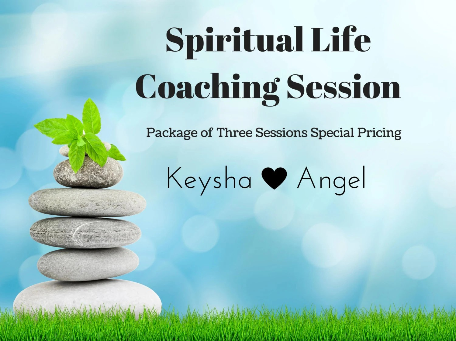 Spiritual Life Coaching Session Package Of Three By