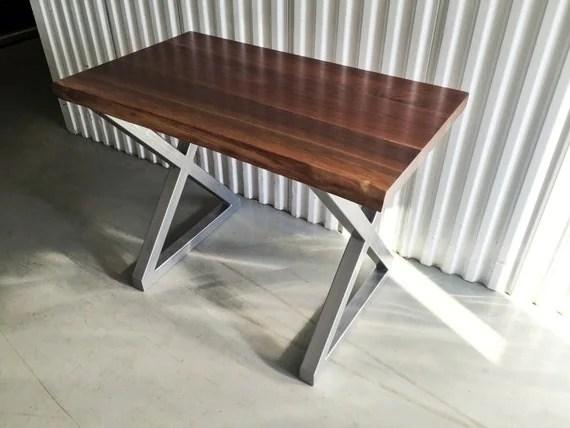 X Frame Steel Metal Dining Table Legs Desk Legs Height