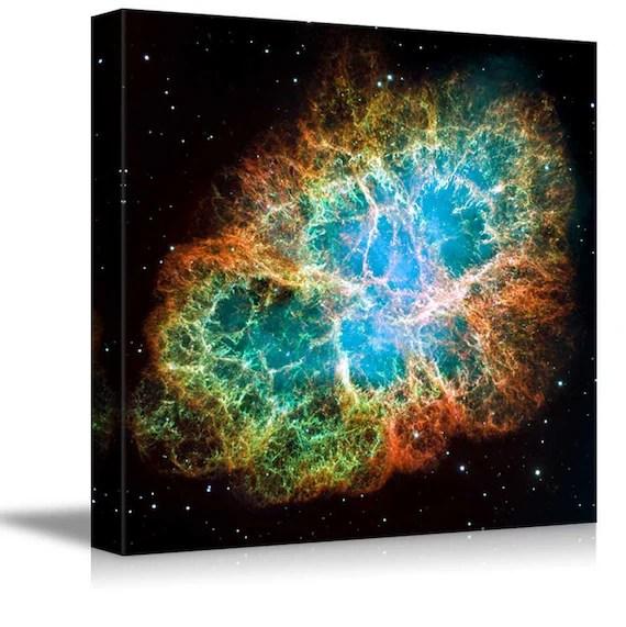 Canvas Prints Crab Nebula Part of the Constellation Taurus
