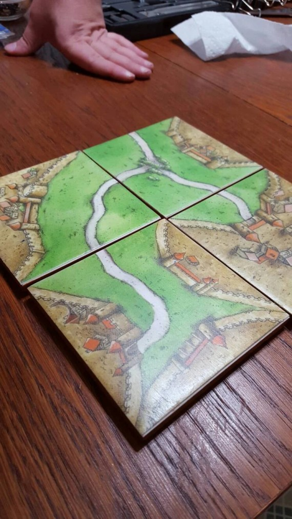 Carcassonne Coasters