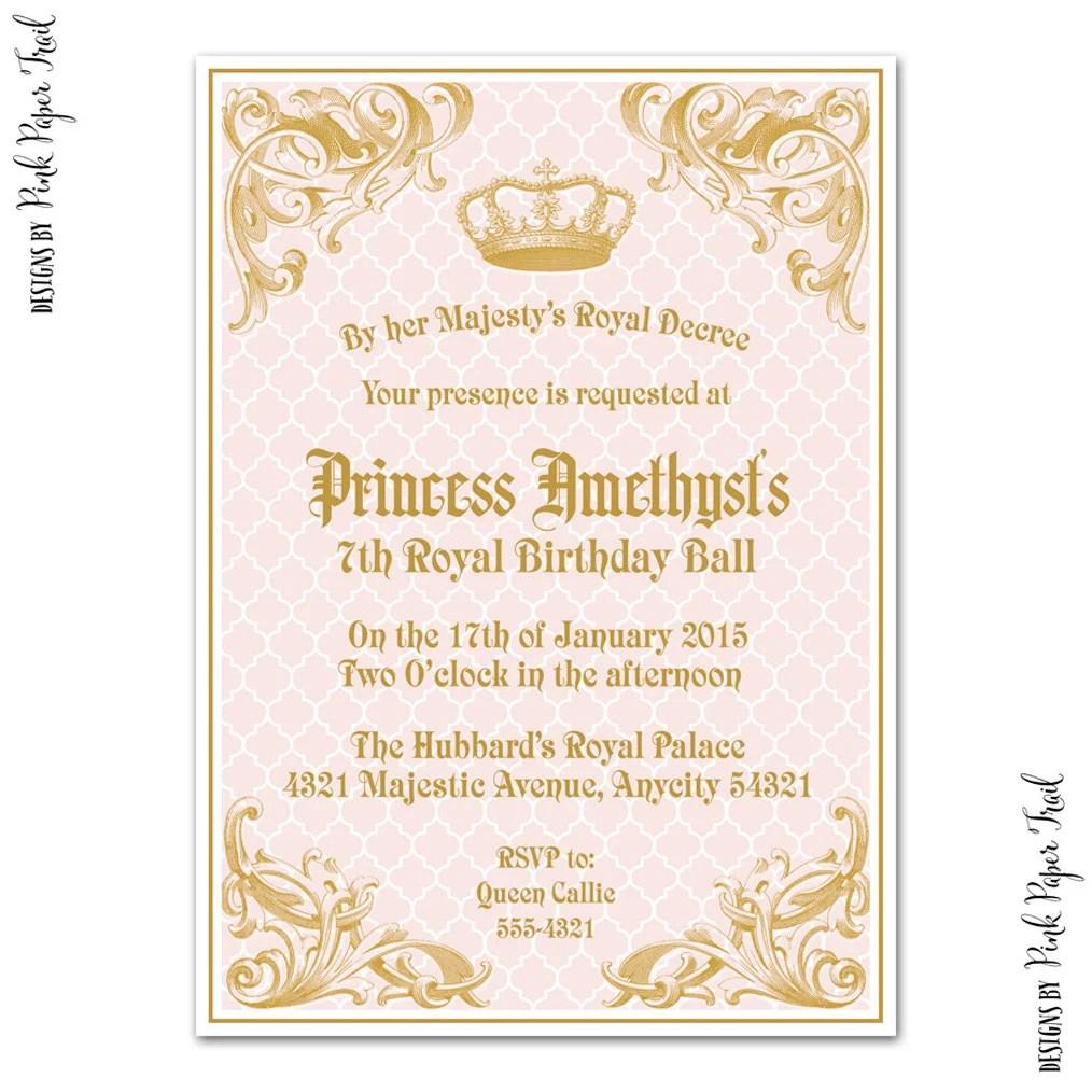 coupon on royal princess invitation