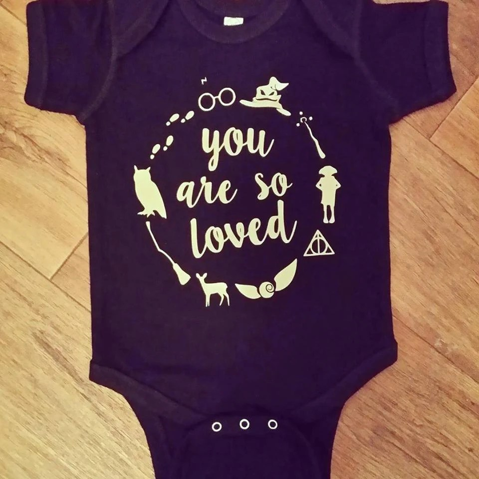 Download You Are So Loved Harry Potter onesie Harry Potter baby