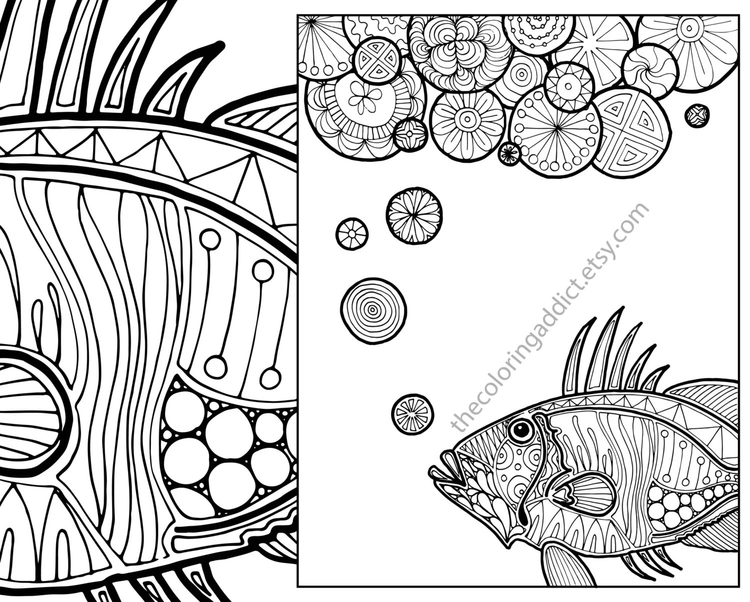 Nautical Adult Coloring Page Ocean Adult Coloring Sheet