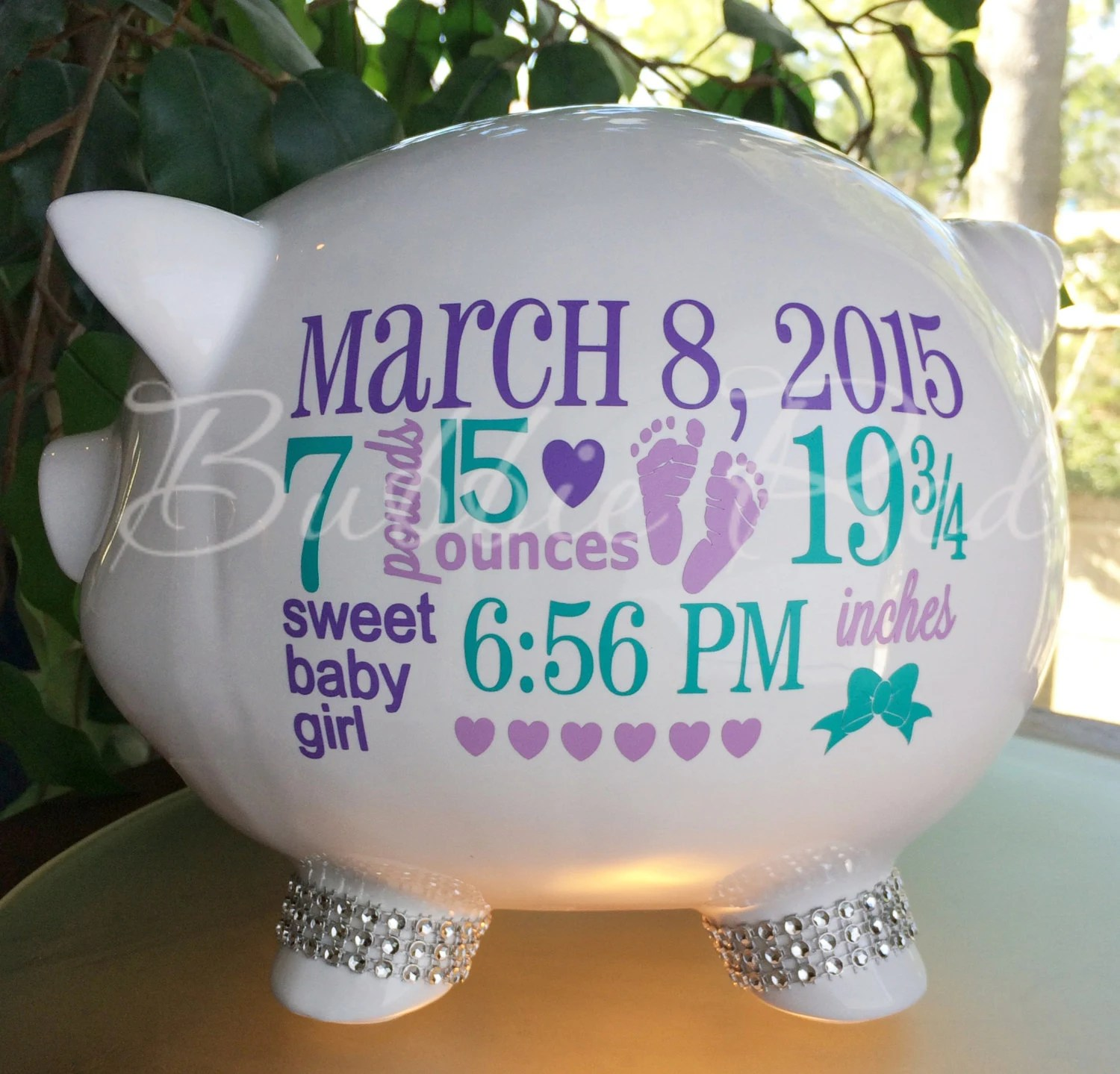 Baby Banks Personalized