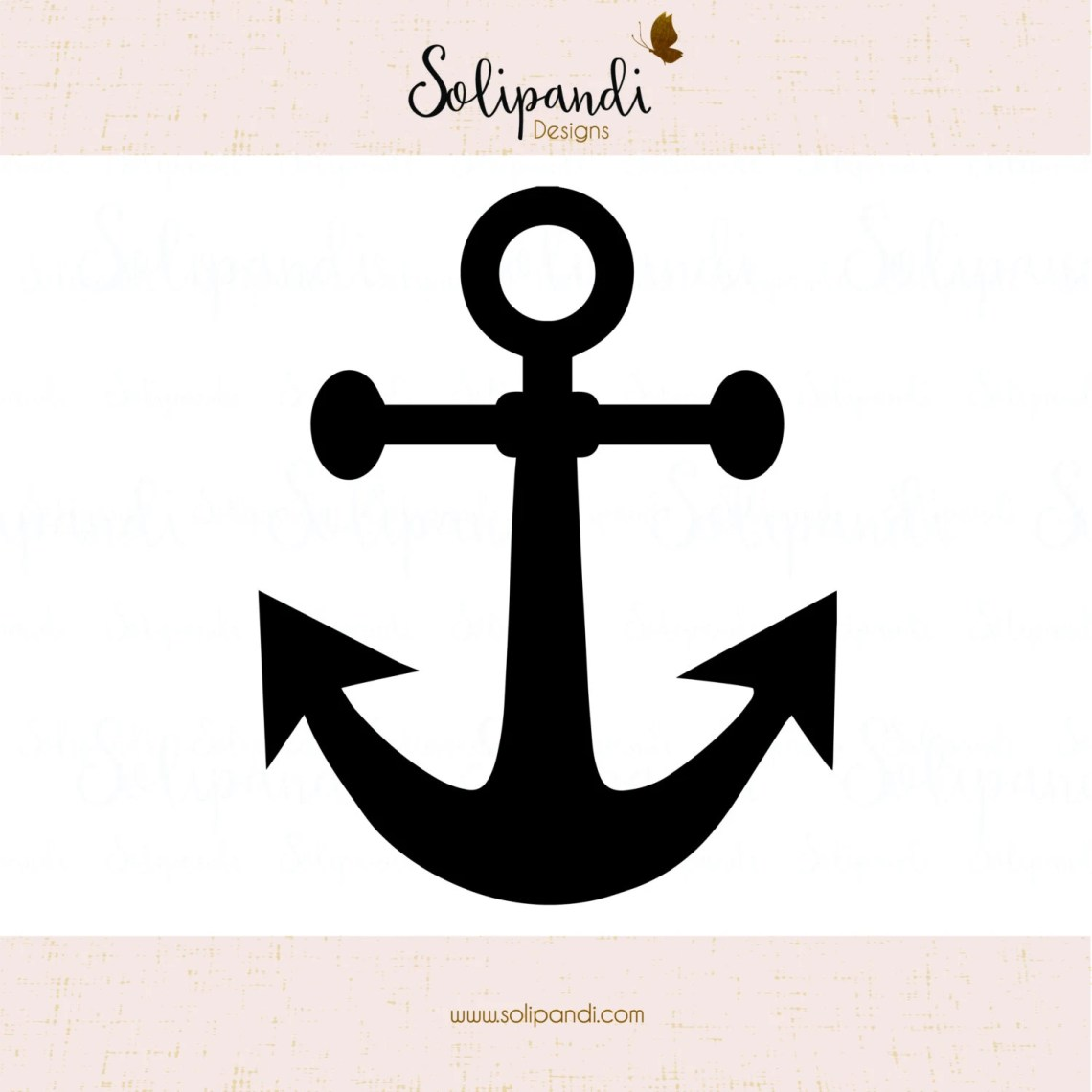 Download Anchor SVG and DXF Cut Files for Cricut Silhouette Die