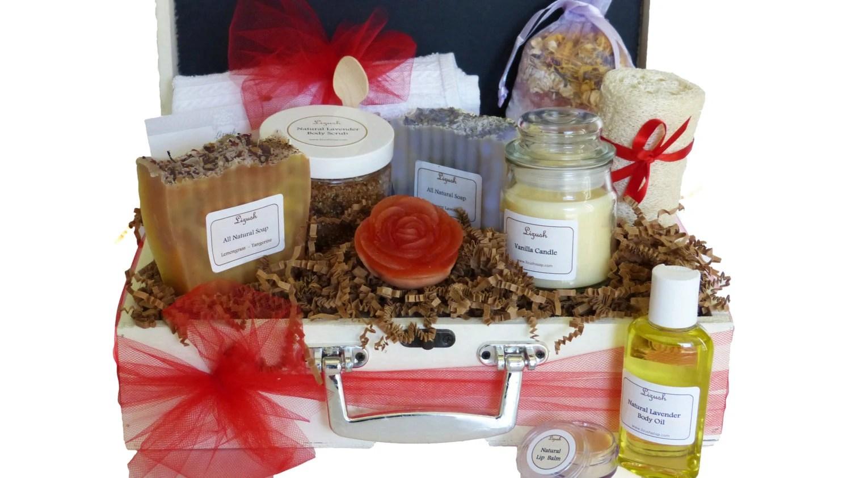 Natural Lavender Gift Baskets