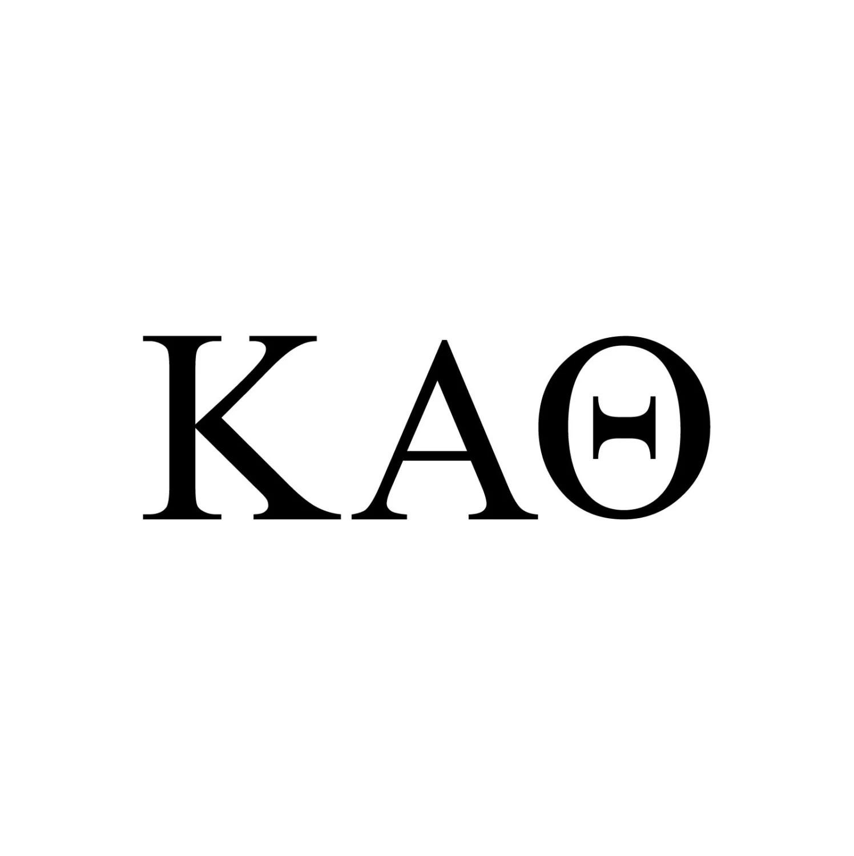Kappa Alpha Theta Decal Vinyl Window Bumper Sorority Greek