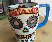 Sugar Skull Mug JUMBO...
