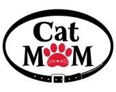 MAGNET - Cat Mom - Euro P...