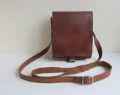Vintage leather bag, mens...