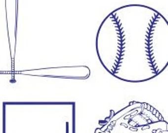 Download Baseball diamond | Etsy