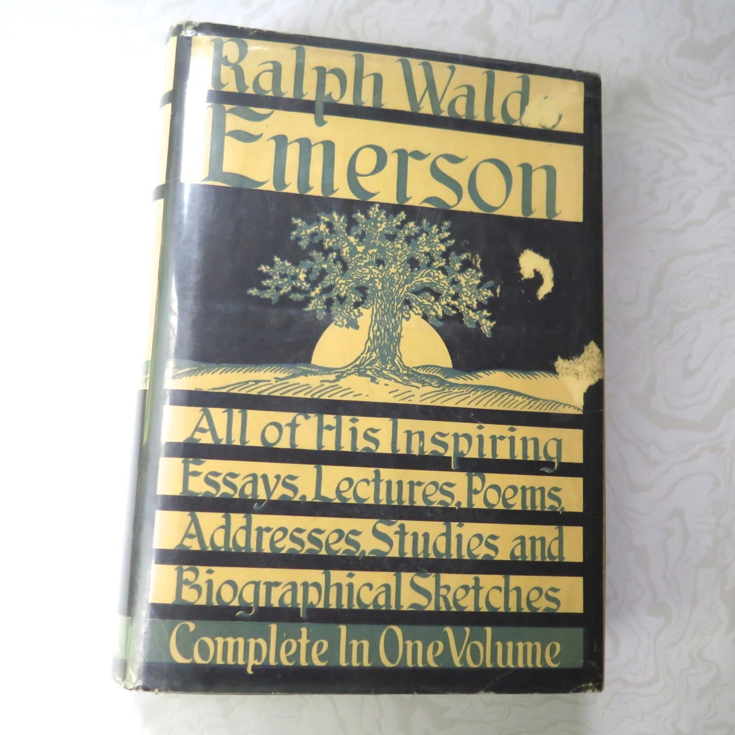 Emerson Complete Writings Ralph Waldo Wise Original Dust