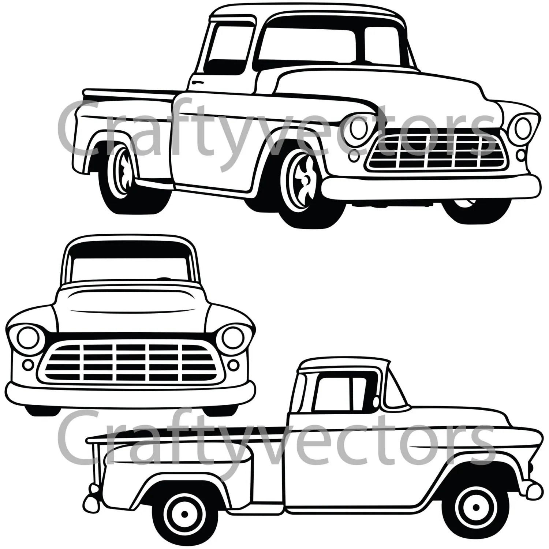 Chevrolet Truck Vector File