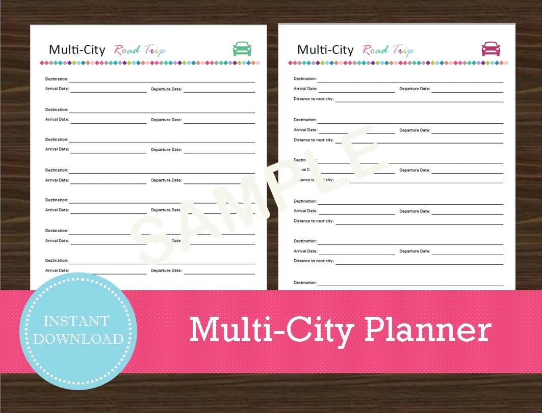 Multi City Road Trip Planner Travel Planner Travel