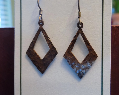 Oxidized Copper Diamond D...