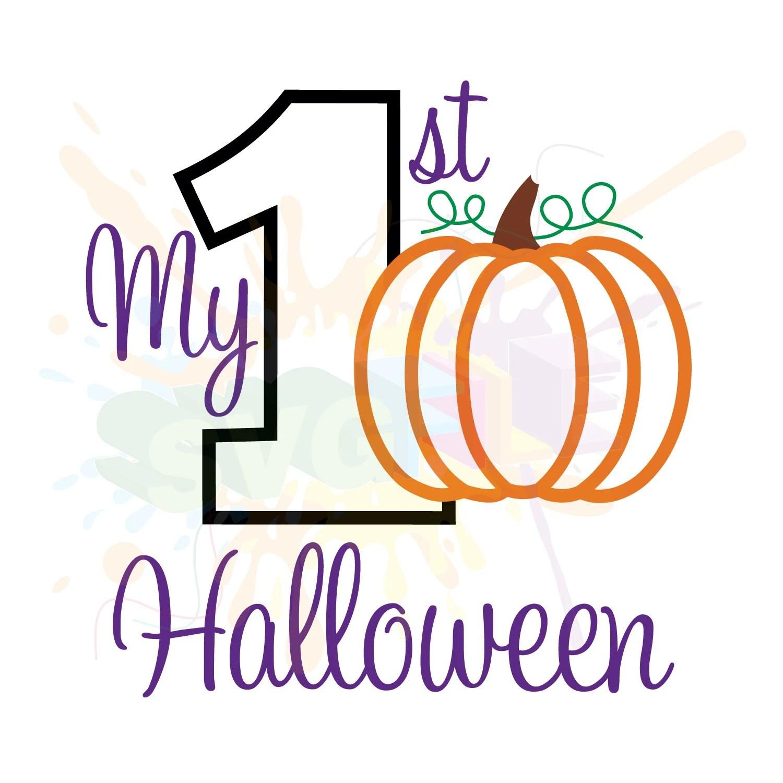 My First Halloween Svg Files For Cutting 1st Cricut Designs